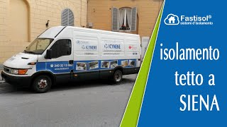 Isolamento tetto a Siena