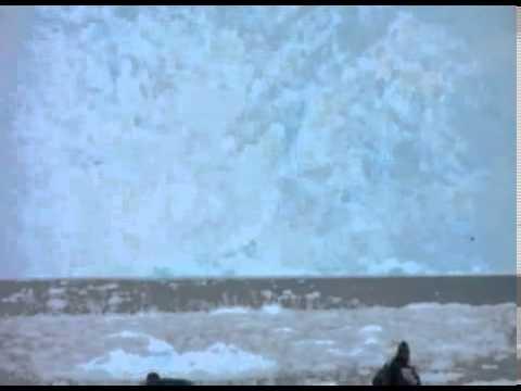 Glacier Collapses Into Ocean