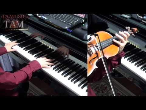 Angel Beats! OP  My Soul,Your Beats!  Arrange Piano+Violin:TAM