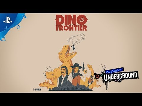 Dino Frontier PS VR Gameplay | PlayStation Underground