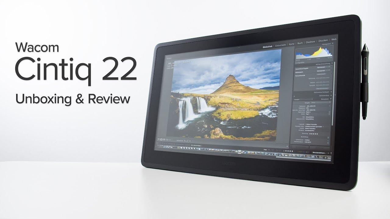 Wacom Cintiq 22 Review - Is bigger better? - YouTube