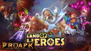 Land Of Heroes MOBA Gameplay IOS / Android