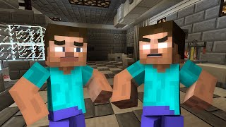 If Herobrine And Steve Swapped Bodies - Minecraft