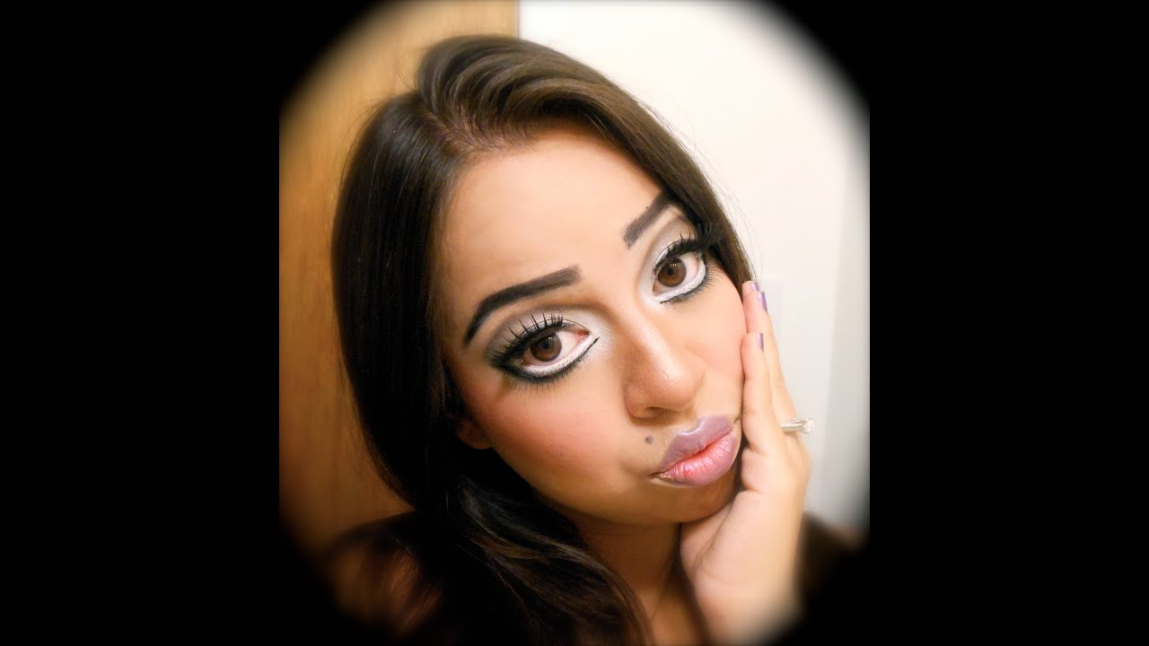 HALLOWEEN BIG EYES TUTORIALYouTube