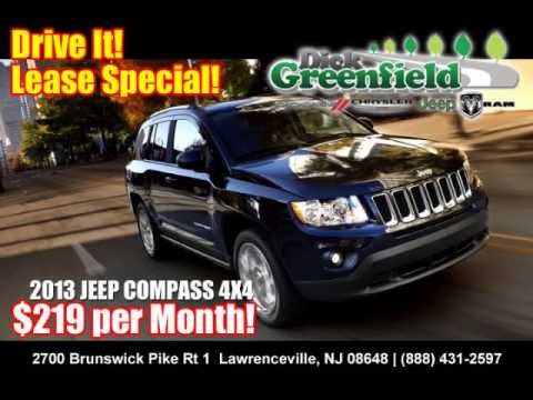 2013 Jeep Compass 4x4 Lease Special New Jersey