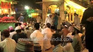 Devotees offer prayers at Ajmer Sharif Dargah in Rajasthan