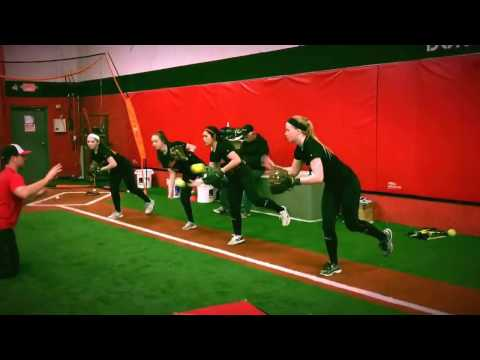 Drills to teach slow roller footwork and body control. Duke Baxter works with NJ Inferno.