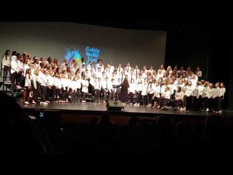 Cudahy Middle School Spring Chorus Concert 6-8 grade finale 05.22.19