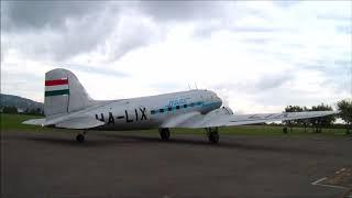 Li-2 Repülés - Budaörs - Dunakanyar 2018.09.22. 3.rész, Beszállás, felszállás