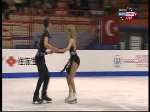 Gabriella Papadakis & Guillaume Cizeron - 2013 World Junior Championships - FD