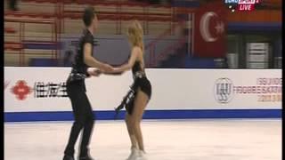 Gabriella Papadakis & Guillaume Cizeron - 2013 World Junior Championships - FD ガブリエラ・パパダキス 検索動画 25