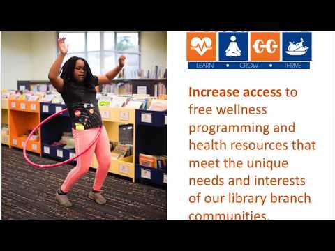 Be Well at NPL: A Health and Wellness Initiative of Nashville Public Library