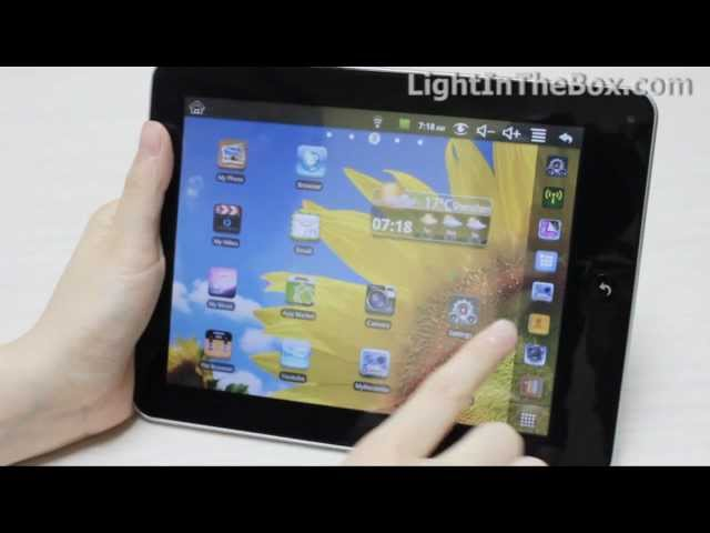ePad - Android 2.2 Tablet From LightInTheBox