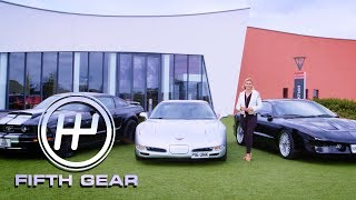 homepage tile video photo for Best American Muscle Cars for 10k | Fifth Gear