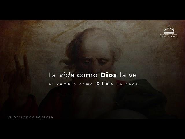 La vida como DIOS la ve / Escuela Teológica / Clase 1 / Ps. Rubén contreras