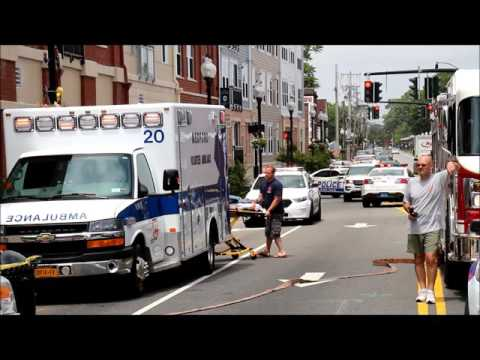 PATCHOGUE NY / VEHICLE INTO BUILDING JULY 14TH 2016