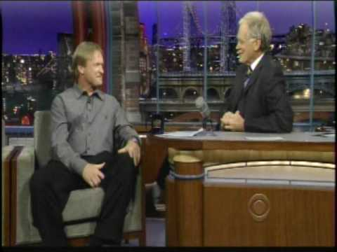 Jon Gruden On David Letterman 4-26-10