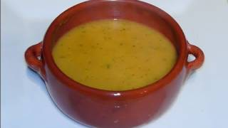 Carrot  & Coriander Soup - Simple Recipe