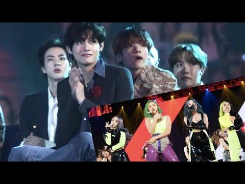 BTS Reacts To Mamamoo At MAMA 2019