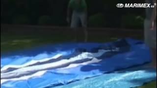 Stavba bazénu Tampa ovál