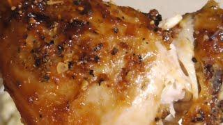 Ninja Foodi Chicken Leg Quarters A1 Garlic & Classic Herbs Dry rub Sweet Baby Rays