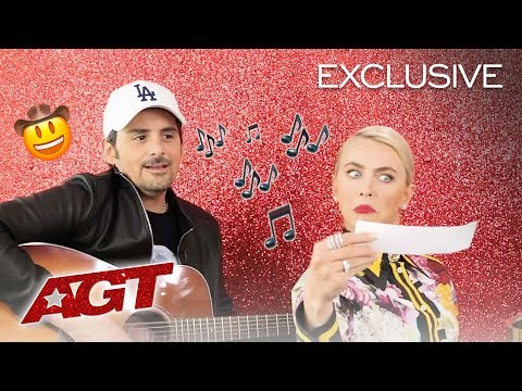 Brad Paisley Ft. Julianne Hough: The AGT Song - America's Got Talent 2019