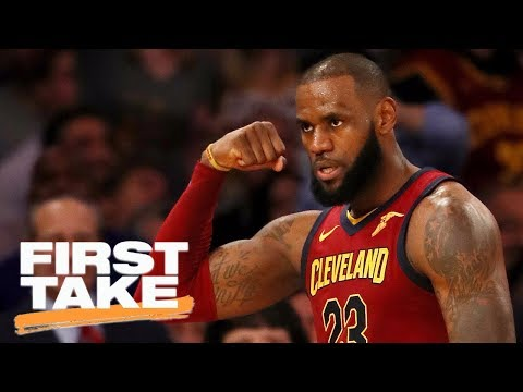 First Take reacts to LeBron James declaring himself the 'King of New York' | First Take | ESPN