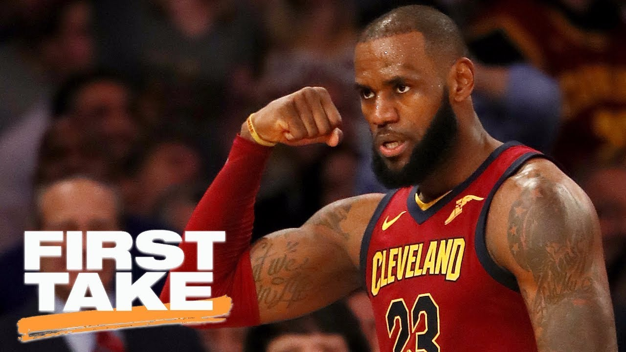 Download First Take reacts to LeBron James declaring himself the 'King of New York' | First Take | ESPN