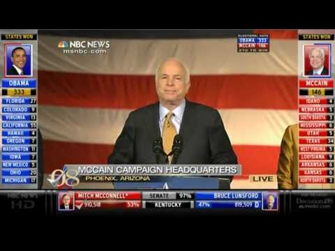 John McCain and Barack Obama Election Night Speeches (11/04/08)