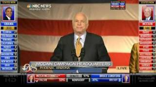 John McCain and Barack Obama Election Night Speeches (11/04/08)