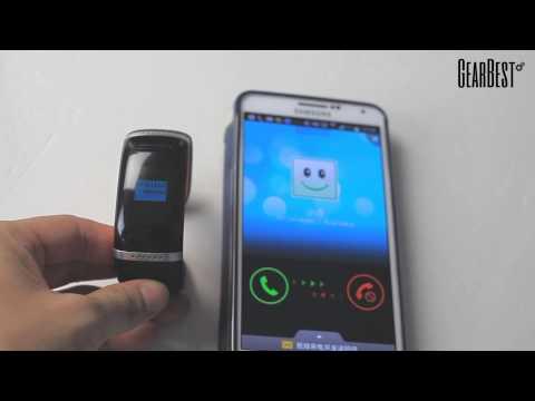 Trendy Style L12S OLED Bluetooth Bracelet Watch from Gearbest.com