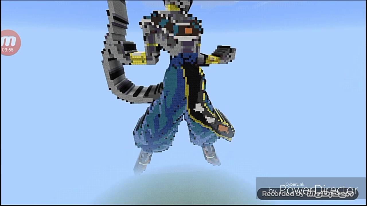 Pixel Art Dragon Ball Minecraft Pocket Edition Map Youtube