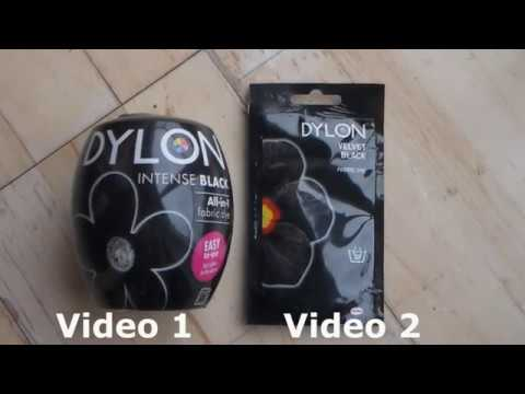 Dyeing your Clothes - 2 Different ways with Dylon