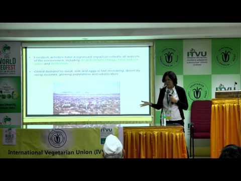 IVU 42nd world veg fest at chennai - Marly Winkler speech