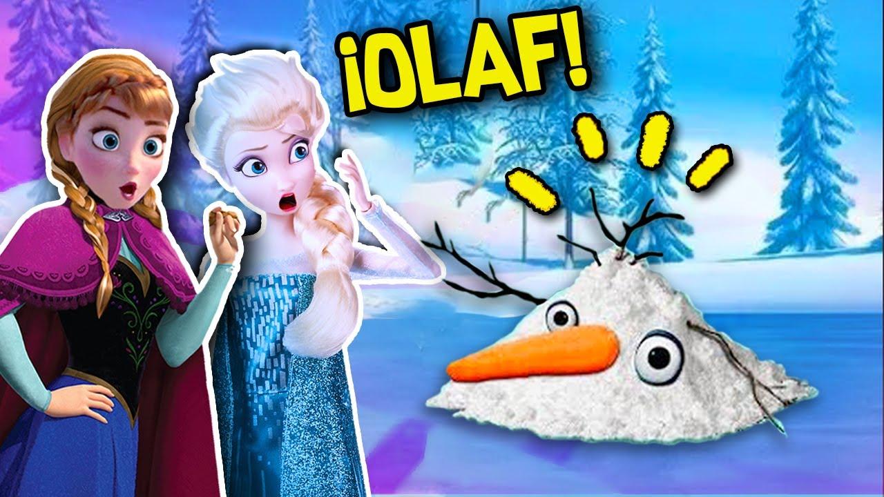 ELSA y ANA PIERDEN a su MEJOR AMIGO ☀️ OLAF se DERRITE - Juguetes Fantásticos
