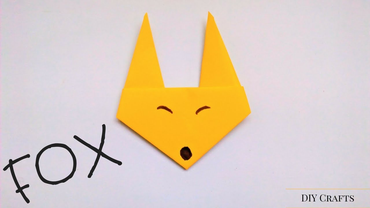 How to make an origami fox face step by step origami fox face how to make an origami fox face step by step origami fox face easiest way origami fox tutorial jeuxipadfo Gallery