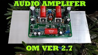 DIY Audio Amplifier | Only For Music Ver 2.7