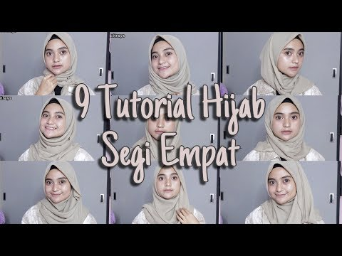 TUTORIAL HIJAB SEGI EMPAT (SIMPLE)