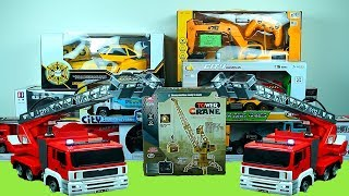 Surprise Toys: Fire Truck, Cars, Trucks, Trains, Excavator & Toy Vehicles