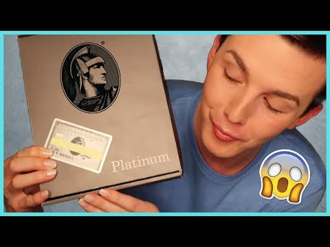 UNBOXING MY NO LIMIT AMERICAN EXPRESS PLATINUM CARD | Ian Marshall
