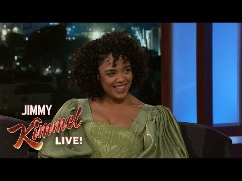 Tessa Thompson on Chemistry with Michael B. Jordan