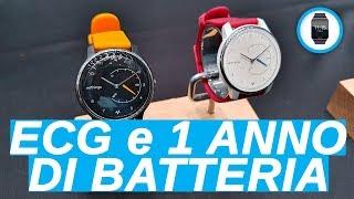 Lo smartwatch che fa l'ECG e che dura un anno
