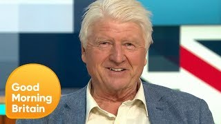 Stanley Johnson Discusses How It Feels for His Son to Become Prime Minster | Good Morning Britain
