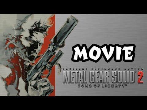 Metal Gear Solid 2 FULL MOVIE [HD]