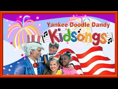 Yankee Doodle Dandy LYRICS | Oh Susanna | July 4th Songs for Kids LYRICS ! | USA  Songs | PBS Kids