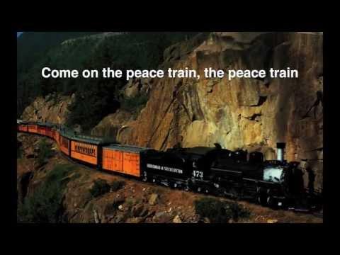 Cat Stevens  Peace Train Peace Train lyrics on screen