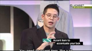 [xtm-homme] CJ E&M, Dress to Impress - Blue Styling for Men