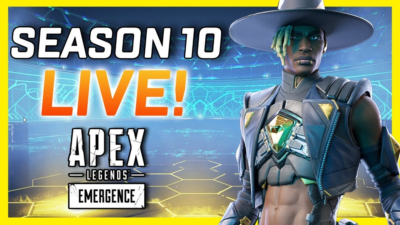Download Apex Legends Season 10 Gameplay LIVE With The Gaming Merchant!