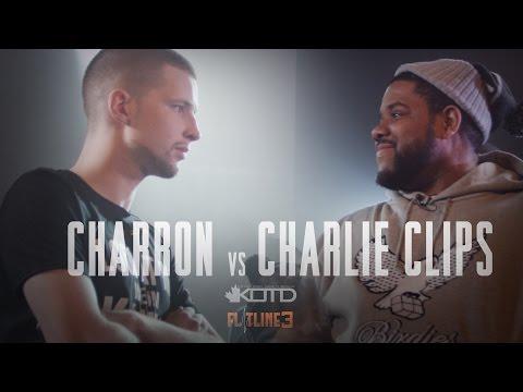 KOTD - Rap Battle - Charron vs Charlie Clips