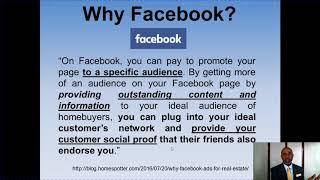 Social Media Marketing for Real Estate Agents 2019